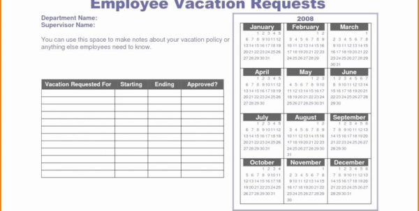 Employee Pto Tracking Spreadsheet Within Vacation Tracking Spreadsheet Free Template Employee Tracker Day