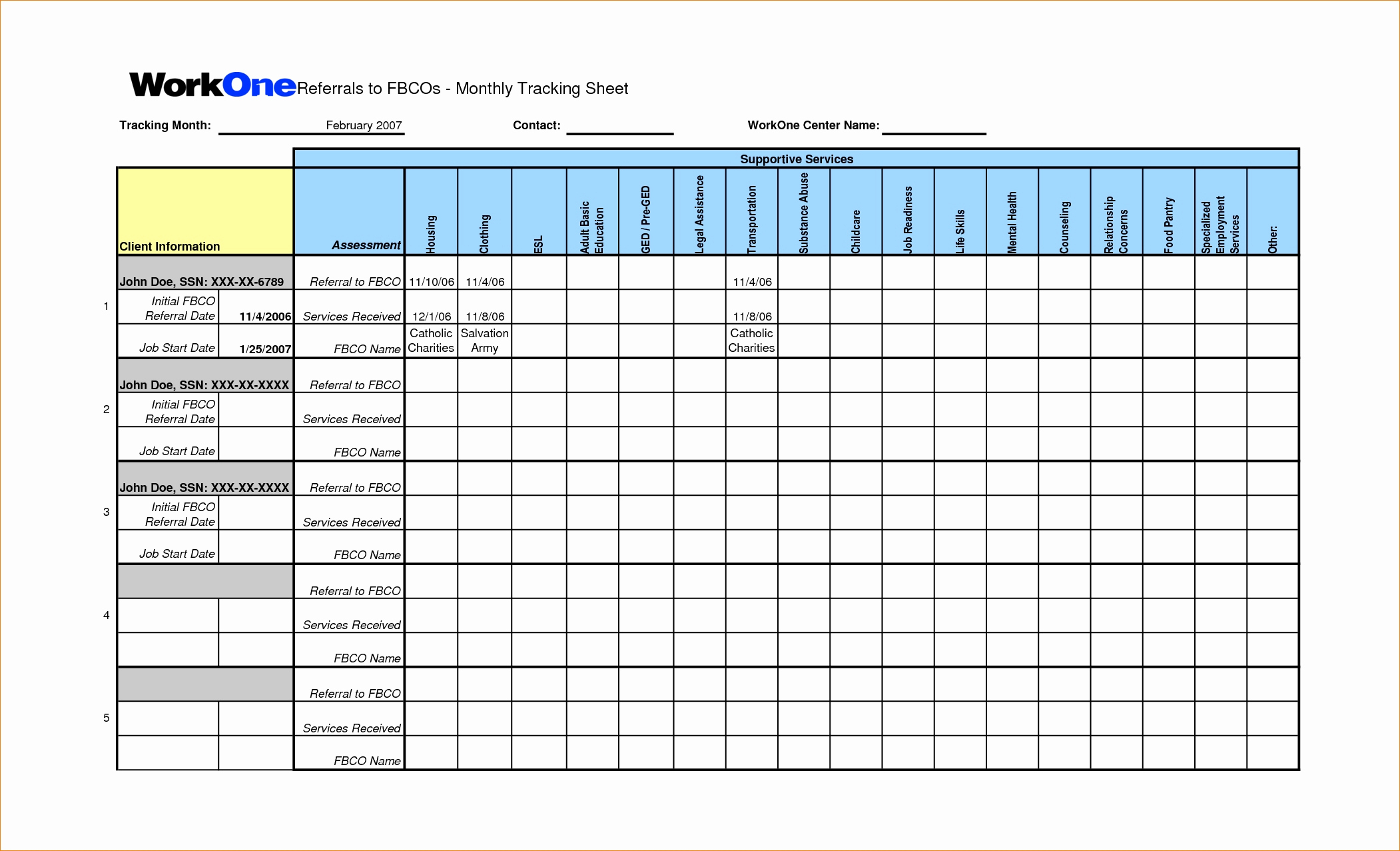 Employee Referral Tracking Spreadsheet For Referral Tracking Spreadsheet  Aljererlotgd