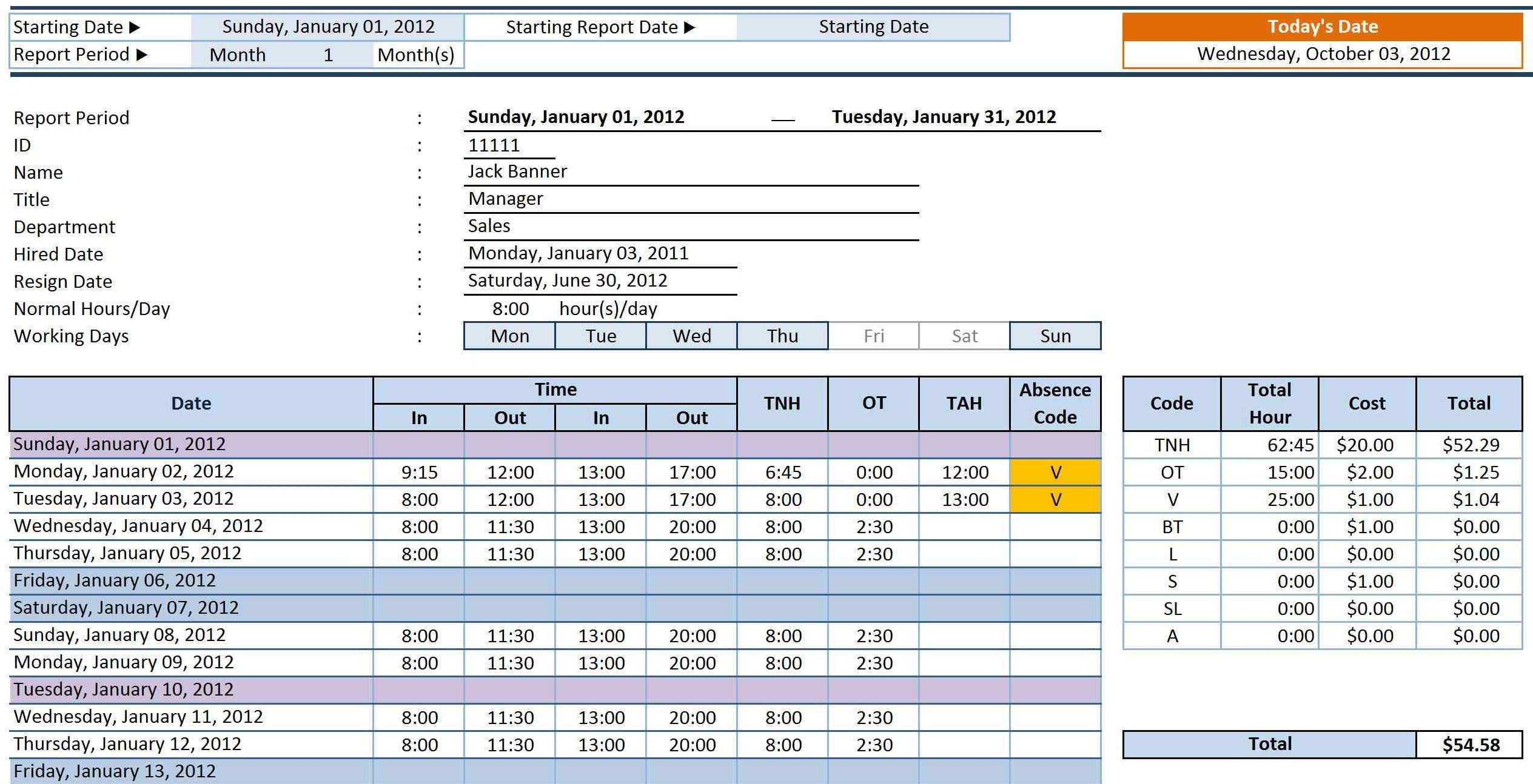 Employee Time Tracking Spreadsheet Free Pertaining To Time Log Template Excel Luxury Spreadsheet Examples Free Employee
