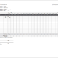 Employee Time Tracking Spreadsheet Free with Monthly Timesheet Template For Excel