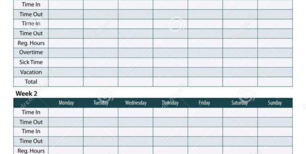 Employee Timesheet Template Excel Spreadsheet Regarding Employee Timesheet Spreadsheet Payroll Weekly Template Best Of