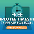 Employee Timesheet Template Excel Spreadsheet With Free Employee Timesheet Template For Excel  When I Work