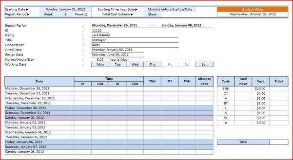 Employee Tracking Spreadsheet For Awesome Absence Tracking Spreadsheet  Wing Scuisine