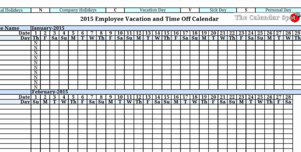 Employee Tracking Spreadsheet For Vacation Tracker Spreadsheet – Theomega.ca