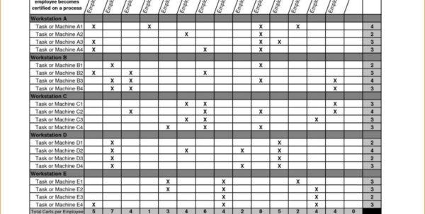 Employee Training Spreadsheet For Tracking Employee Training Spreadsheet Free Templates  Austinroofing