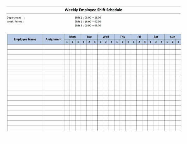 Employee Training Spreadsheet Pertaining To Employee Schedule Excel Spreadsheet Free Monthly Template Scheduling