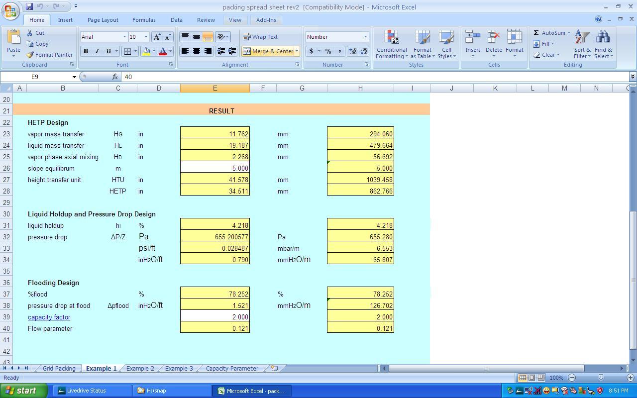 Engineering Spreadsheets Pertaining To Kolmetz  Guidelines