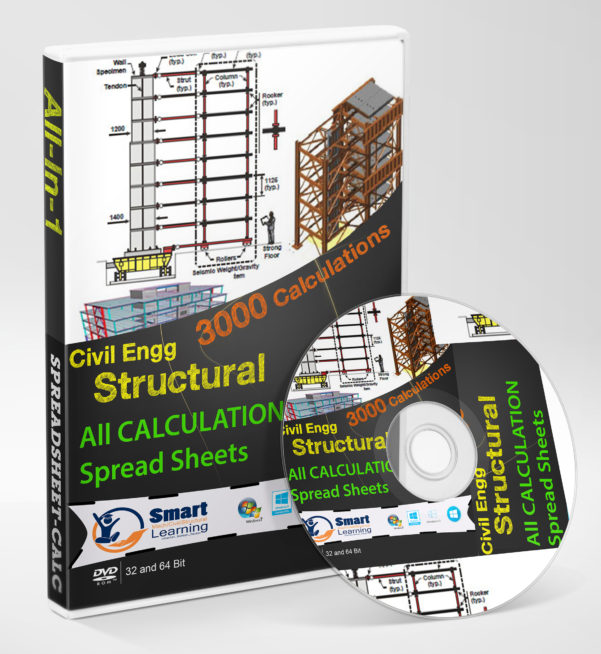 Engineering Spreadsheets Throughout Civilstructural Design Calculation Spreadsheets