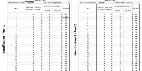Epa Tanks Spreadsheet For Storage Tanks  Kstate Ppi