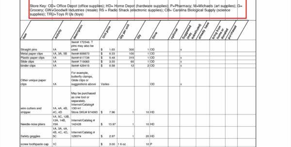Equipment Inventory Spreadsheet For Football Equipment Inventory Spreadsheet  Awal Mula