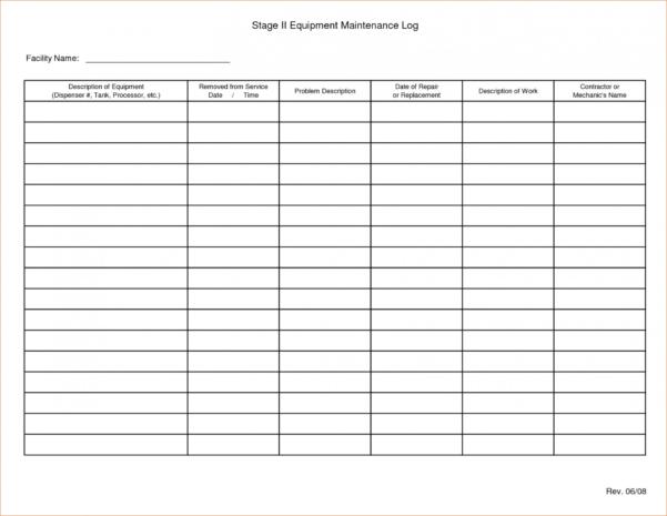 Equipment Maintenance Schedule Spreadsheet In 003 Vehicle Maintenance Schedule Template Excel Preventive