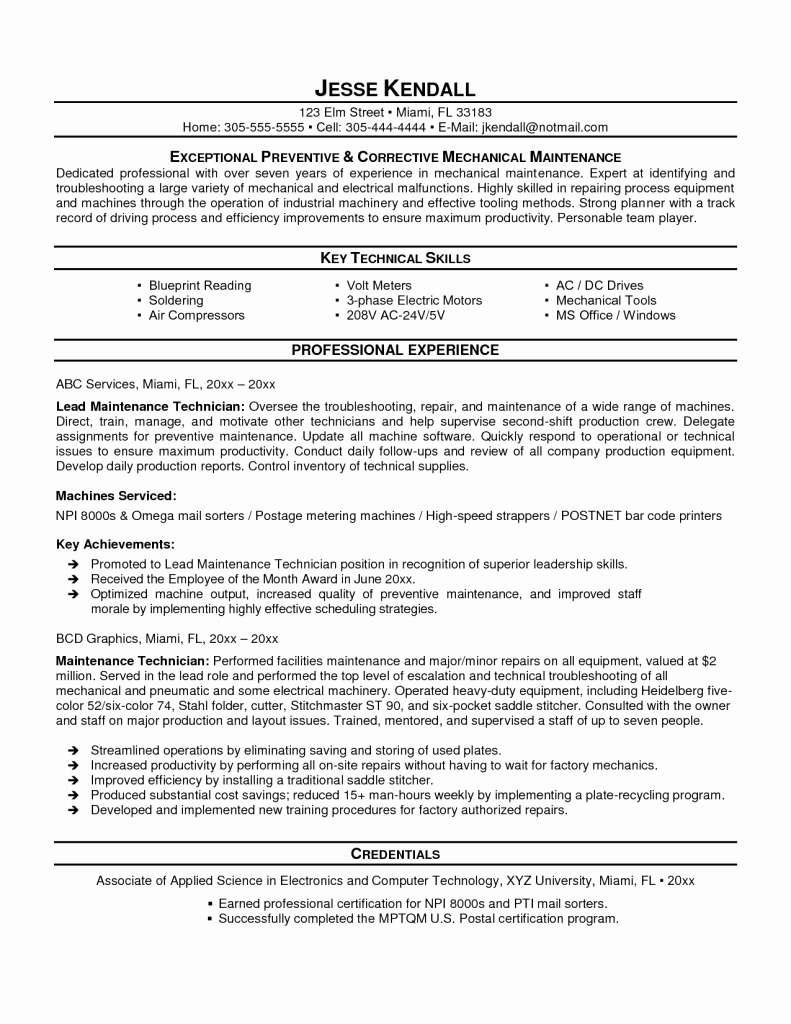 Equipment Maintenance Tracking Spreadsheet For Equipment Maintenance Tracking Spreadsheet And Sample Resume For