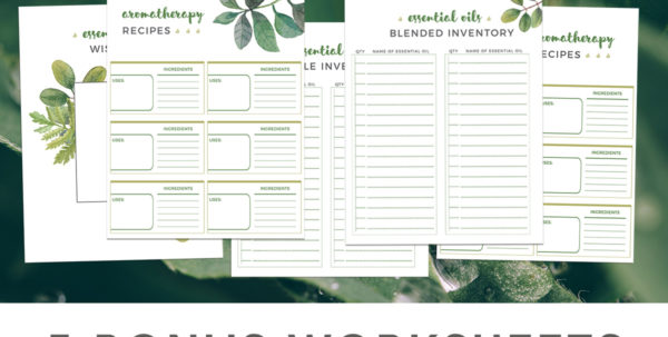 Essential Oil Inventory Spreadsheet With Regard To Aromatherapy – A Practical Guide For Home And Family  Lifenreflection