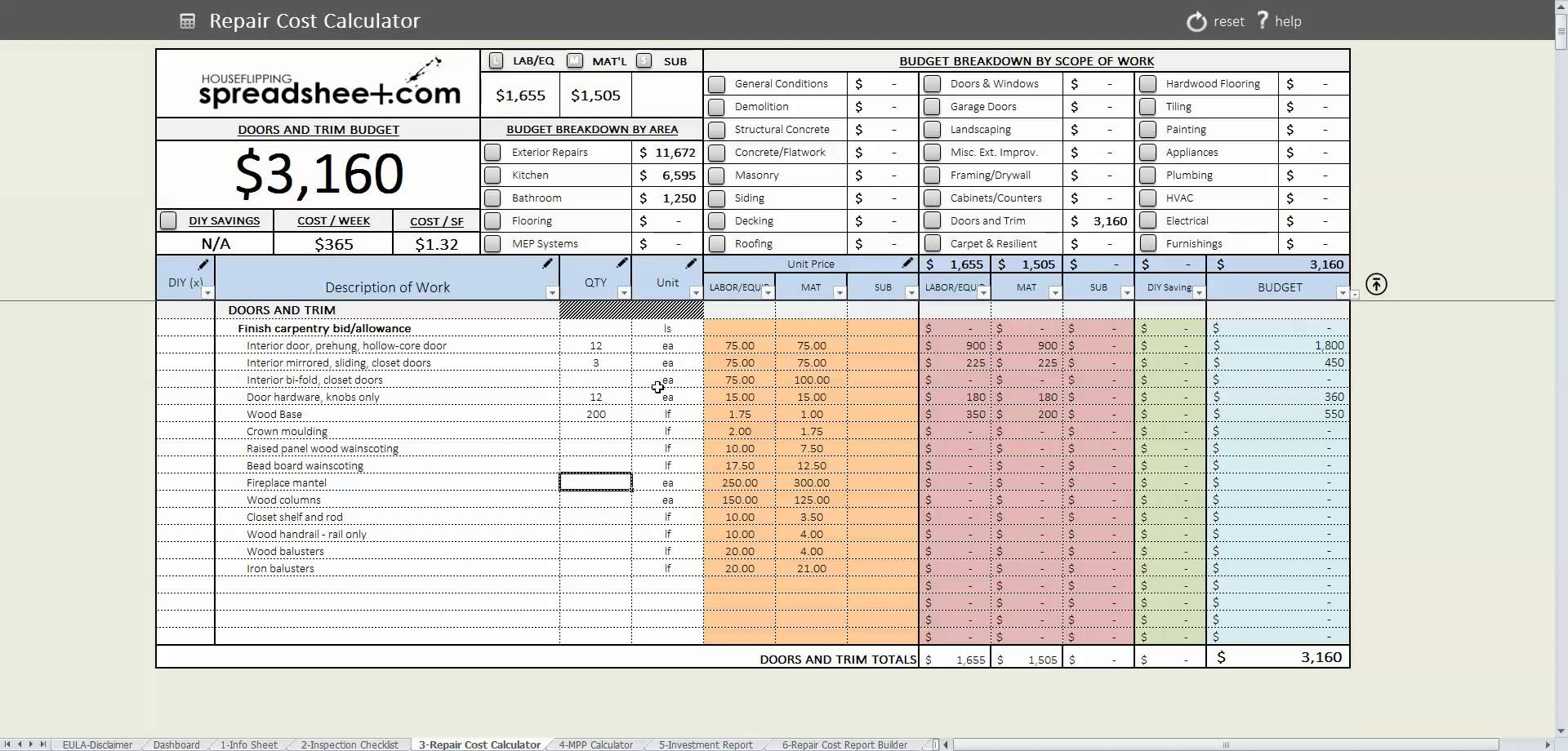 Estate Executor Spreadsheet Uk Throughout Spreadsheet For Estate Accounting  Homebiz4U2Profit