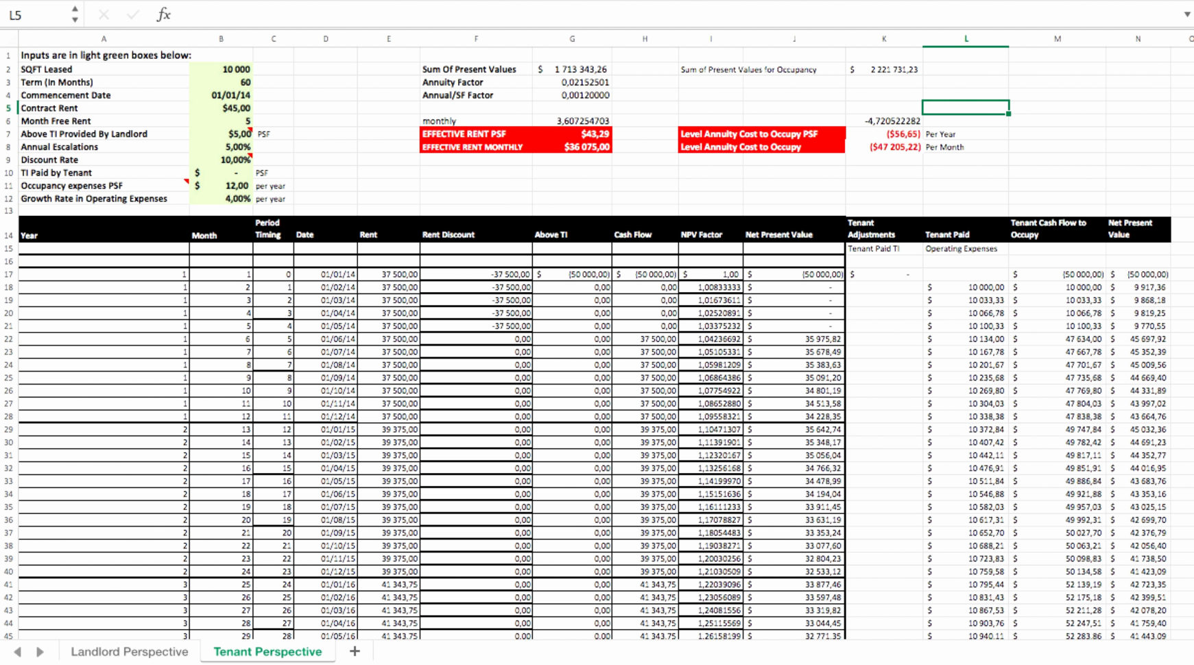 Estate Spreadsheet Within Real Estate Spreadsheet Analysis Commercial Market Rental Excel
