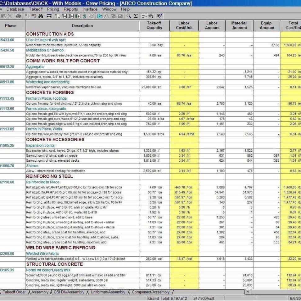 Estimating Spreadsheets Free Download Regarding Estimating Spreadsheets Invoice Template Construction Spreadsheet