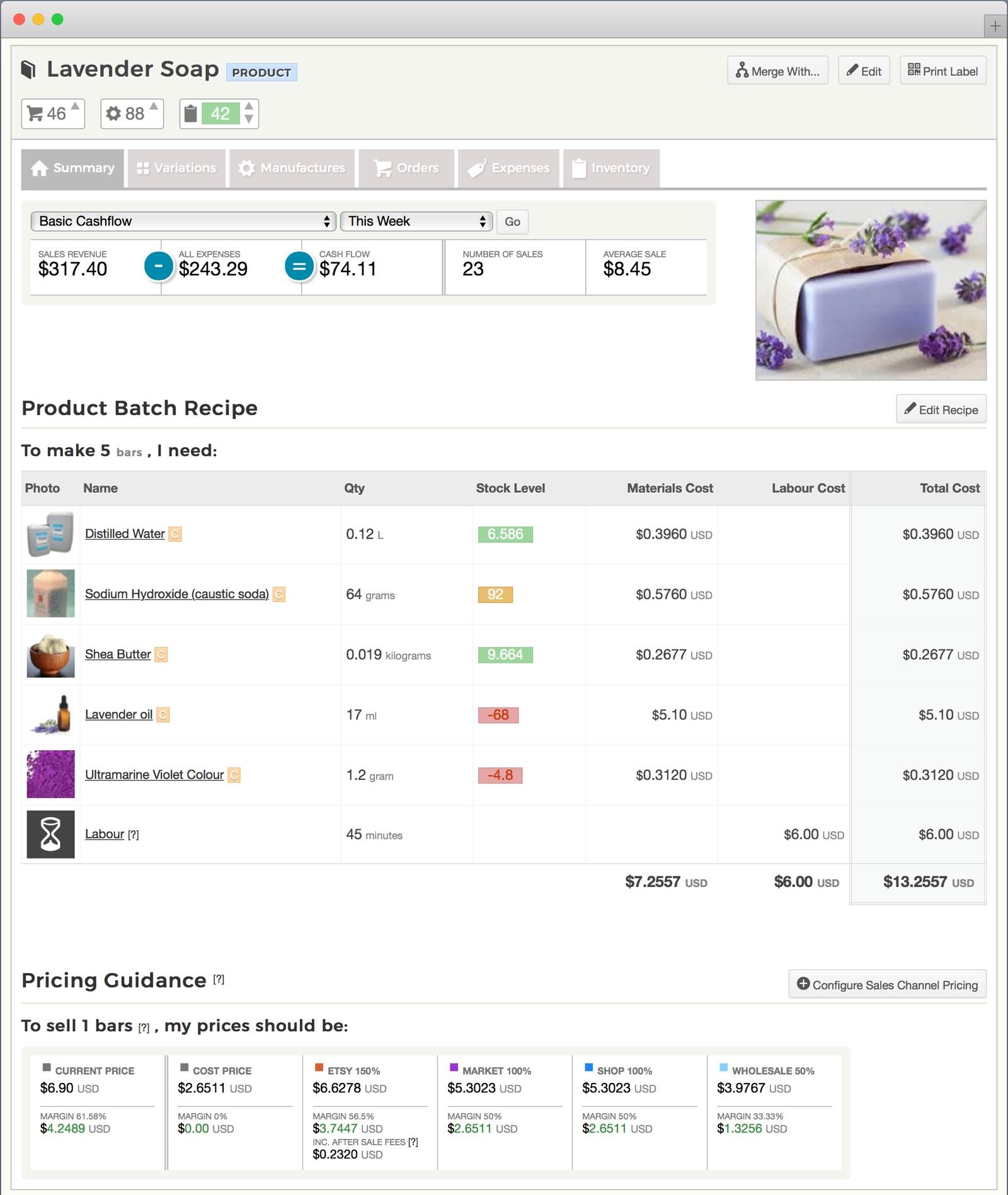 Etsy Inventory Spreadsheet Regarding Etsy Inventory Spreadsheet  Craftybase