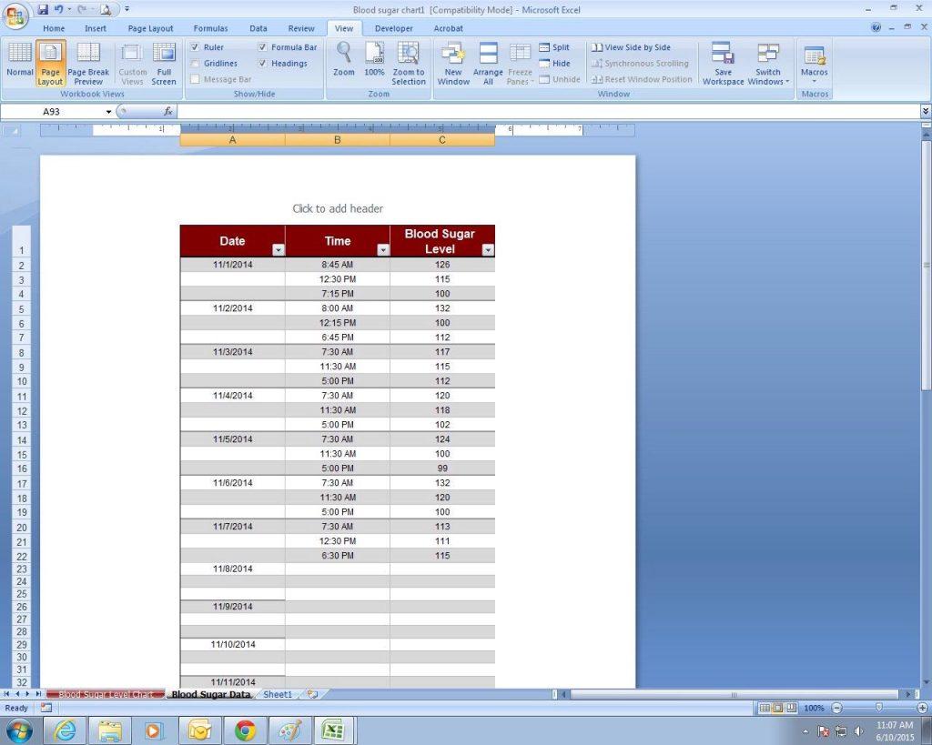 Etsy Pricing Spreadsheet Intended For Blood Sugar Spreadsheet Sample Worksheets Printable Log Sheet
