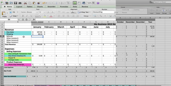 Etsy Pricing Spreadsheet Regarding Etsy Pricing Spreadsheet How To Use Your Sellers Pt  Pywrapper
