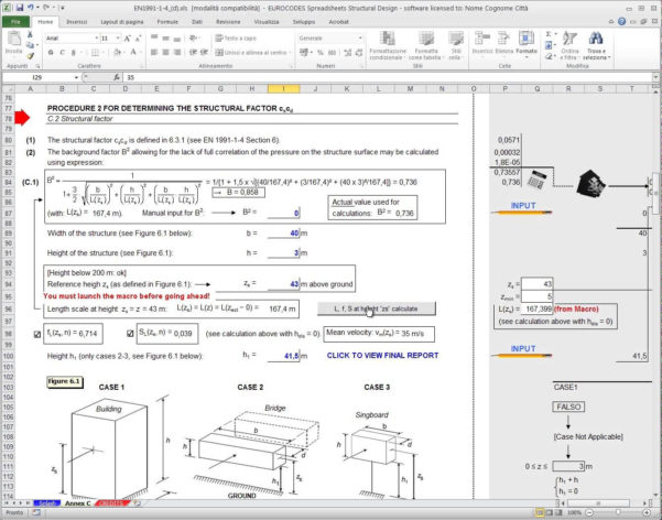 Eurocode Spreadsheets For Wind Load Calculation Excel Sheet  Austinroofing