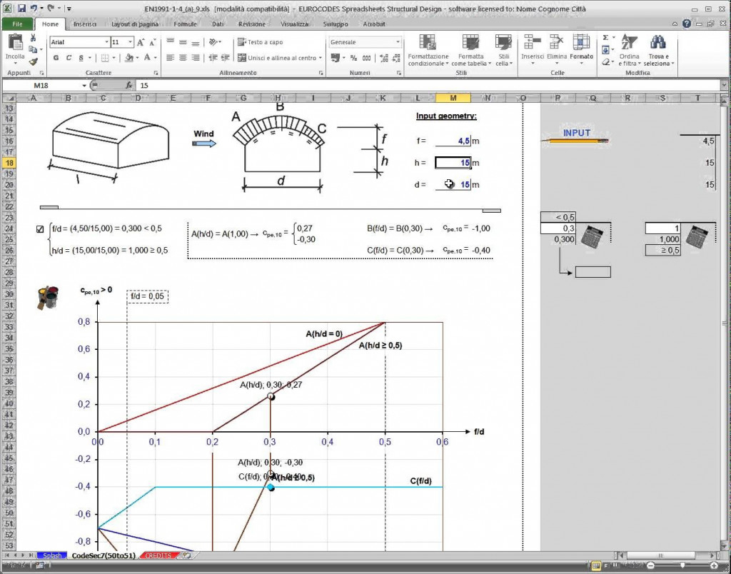 Eurocode Spreadsheets Within Wind Load Calculation Spreadsheet  Austinroofing
