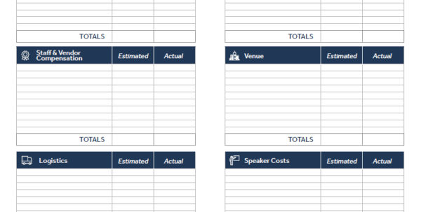 Event Budget Spreadsheet Pertaining To Event Planner Budget Template 3 – Invest Wight With Event Budget