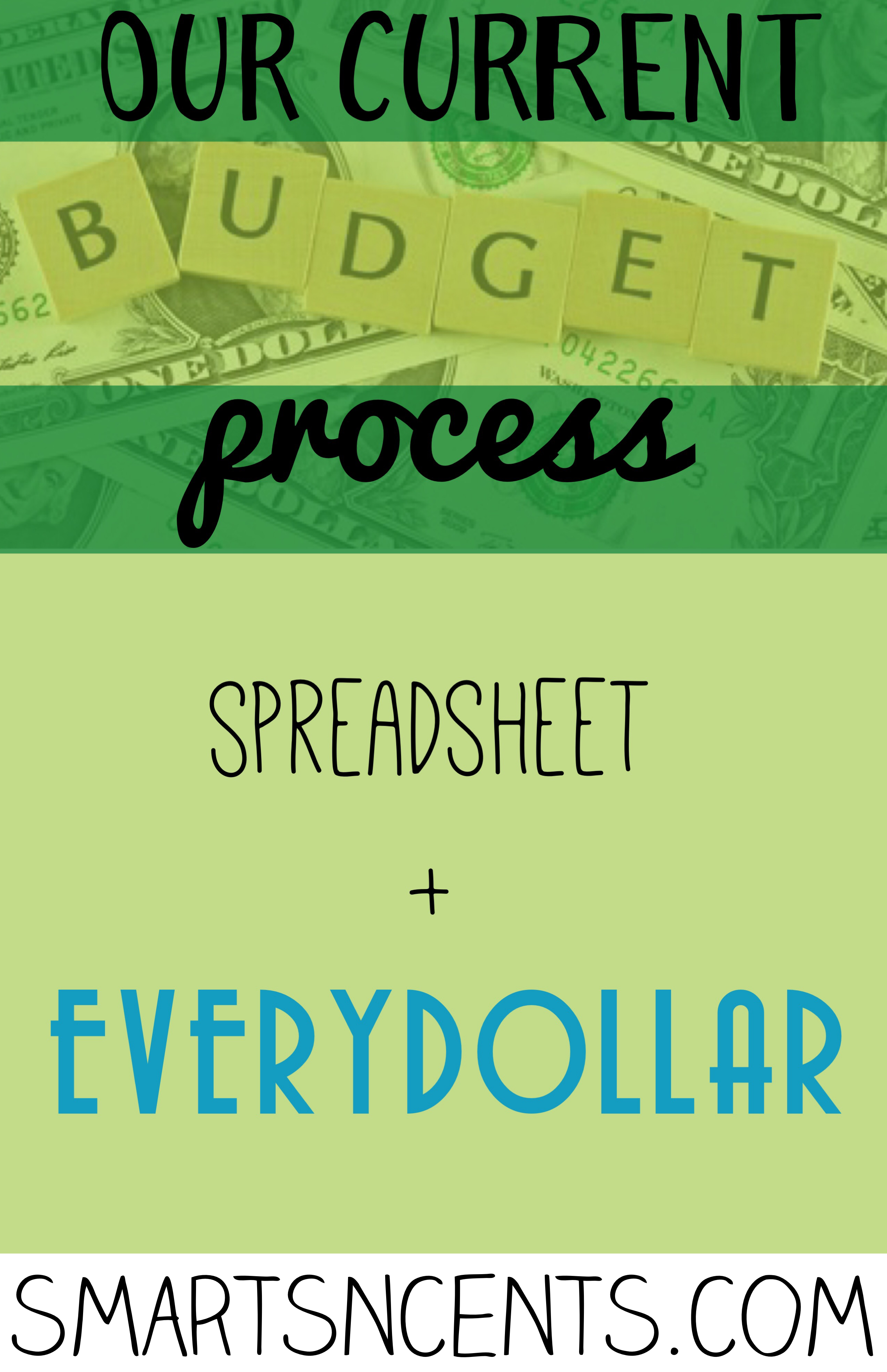 Every Dollar Budget Spreadsheet Intended For Our Current Budgeting Process: Customized Spreadsheet   Everydollar