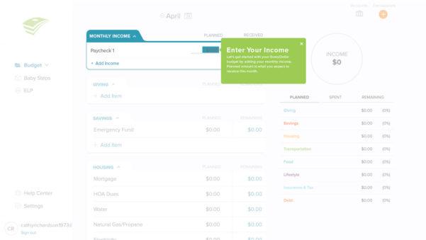 Every Dollar Spreadsheet For Getting Started With Everydollar  Help Center  Everydollar