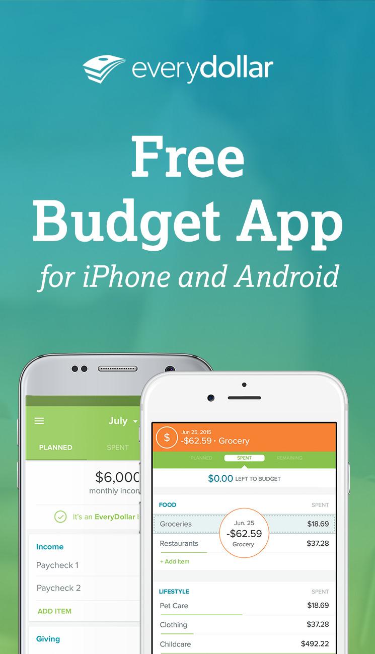 Every Dollar Spreadsheet Pertaining To Everydollar Budgeting App  Everydollar