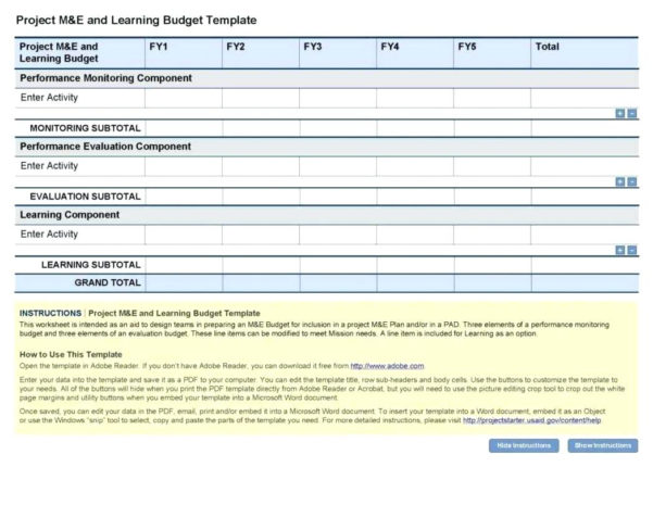 Example Of A Project Budget Spreadsheet In Project Management Budget Tracking Template Project Budget Plan