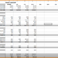 Example Of Monthly Budget Excel Spreadsheet Pertaining To 12 Month Budget Spreadsheet Zoro.9Terrains.co Throughout Monthly
