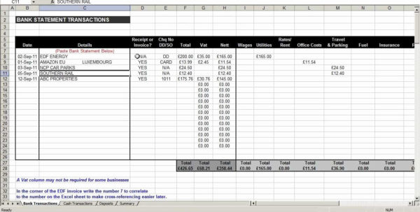 Examples Of Business Expenses Spreadsheets Intended For Example Of Business Expenses Spreadsheet For Business Expenses
