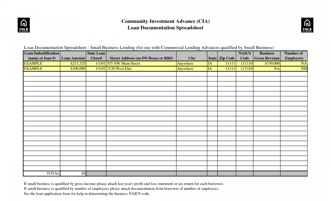 Examples Of Spreadsheet Application Throughout 15  Premium Sample Spreadsheet For Small Business ~ Premium Worksheet