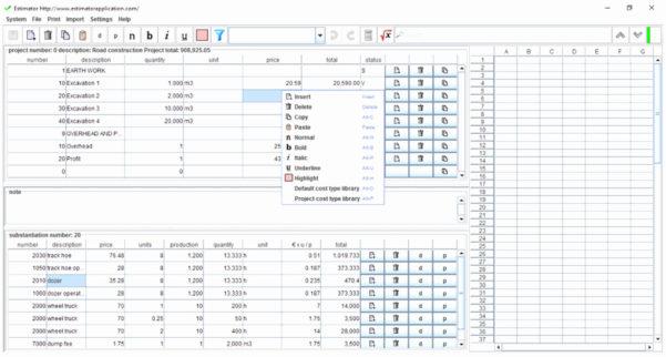 Excavation Estimating Spreadsheet Inside Earthwork Estimating Spreadsheet – Spreadsheet Collections