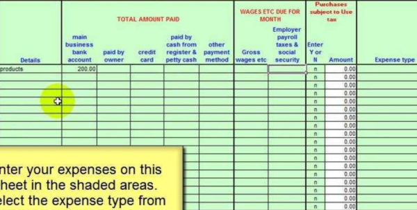 Excel Accounting Spreadsheet Templates Pertaining To Usa Salon Accounting Spreadsheet Template  Youtube Inside Free