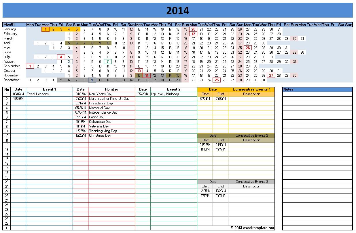 Excel Calendar Spreadsheet For Free Excel Calendar Templates Xls Monthly Spreadsheet  Askoverflow