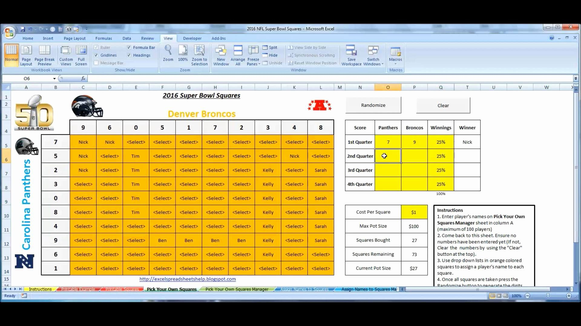 excel football spreadsheet printable spreadshee excel