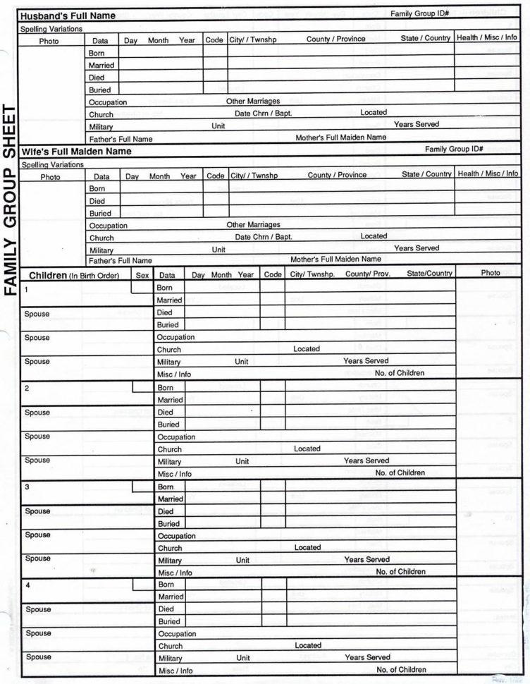 Excel Genealogy Spreadsheet With Genealogy Spreadsheet Template Family Tree Template Excel With
