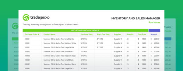 Excel Inventory Spreadsheet Templates Tools For Free Inventory Spreadsheet  Tradegecko