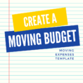 Excel Moving Expense Spreadsheet Pertaining To Create A Realistic Moving Budget Using This Guide