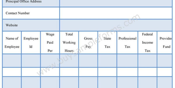 Excel Payroll Spreadsheet Download Pertaining To Microsoft Excel Payroll Calculator Template Free Download  Parttime