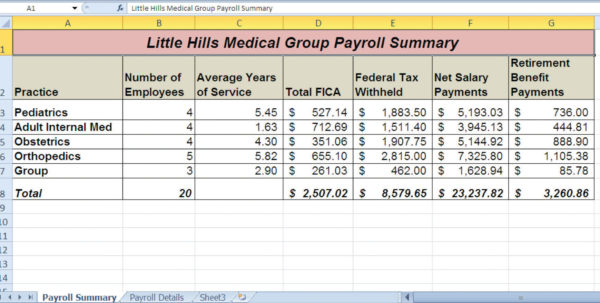Excel Payroll Spreadsheet With Free Excel Payroll Spreadsheet  Spreadsheet Collections
