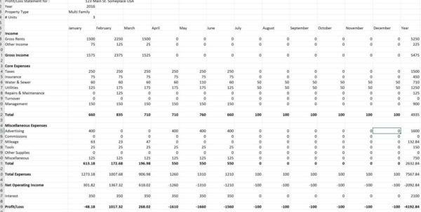 Excel Property Management Spreadsheet With The Great Battle: Excel Vs Online Property Management Software