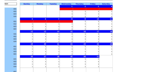 Excel Room Booking Spreadsheet In Free Hotel Reservation Manager Template