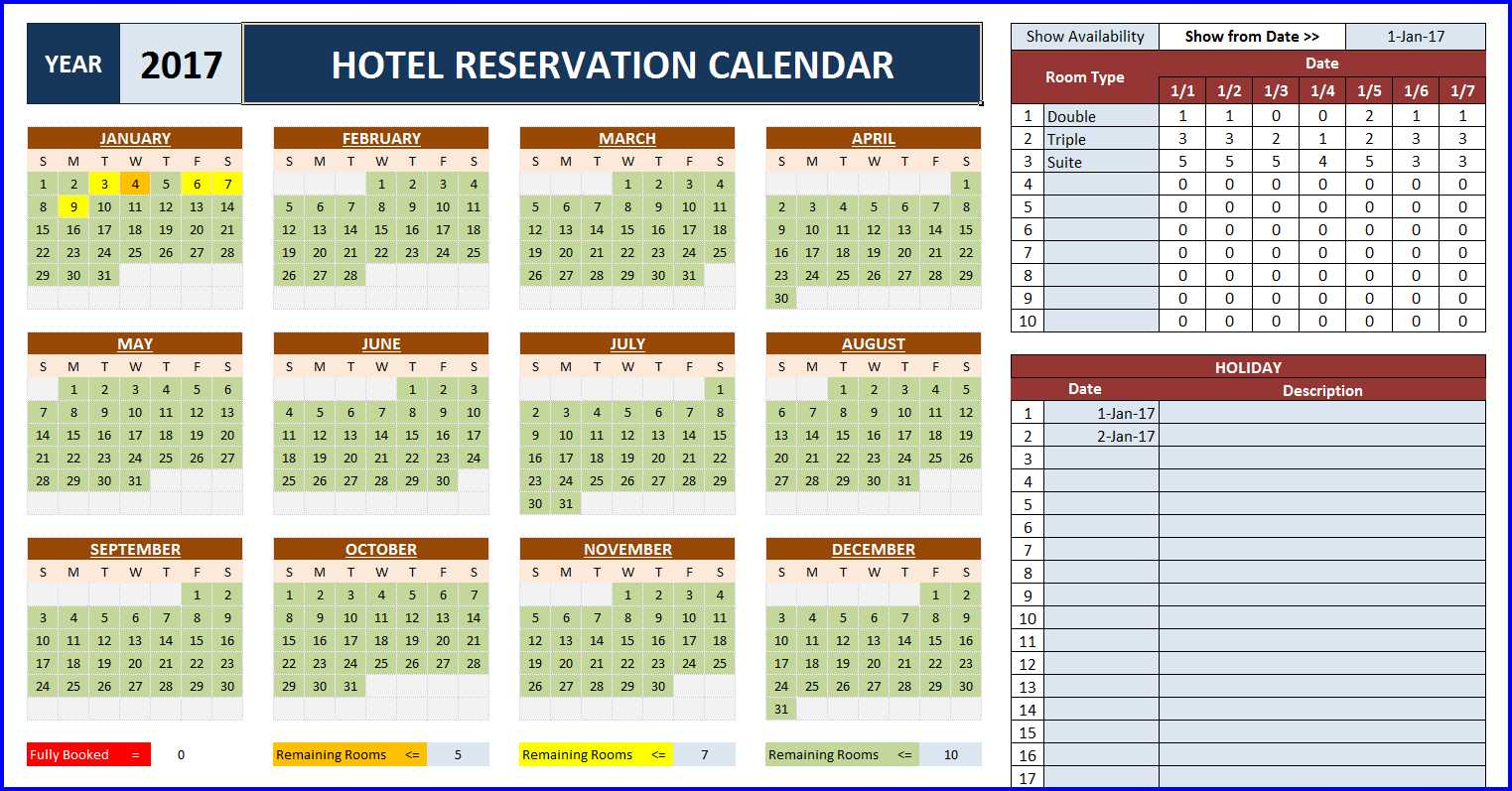 Excel Room Booking Spreadsheet Inside Room Booking Calendar For Excel  Excelindo