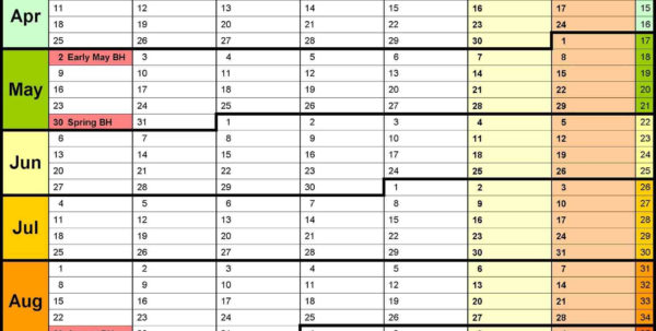Excel Rota Spreadsheet Intended For Work Rota Template  Rent.interpretomics.co