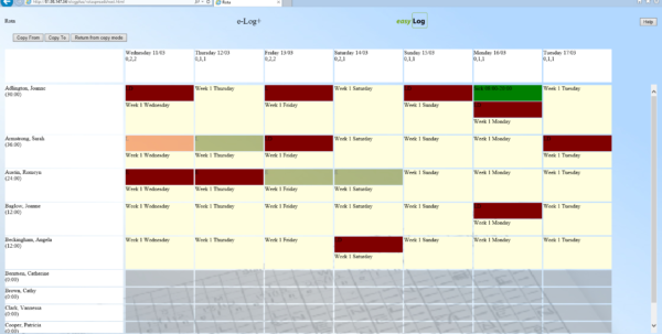 Excel Rota Spreadsheet Regarding Rota Template  Kasare.annafora.co