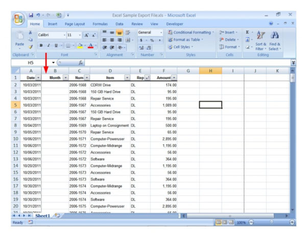 Excel Sales Analysis Spreadsheet Intended For Sample Excel Sales Data Spreadsheet Example Of Analysis  Pianotreasure