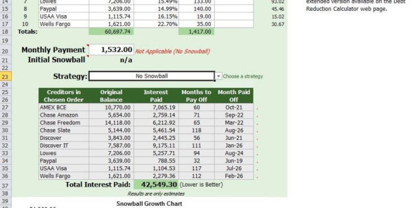 Excel Snowball Debt Reduction Spreadsheet In Debt Reduction Spreadsheet Excel And Debt Reduction Spreadsheet For