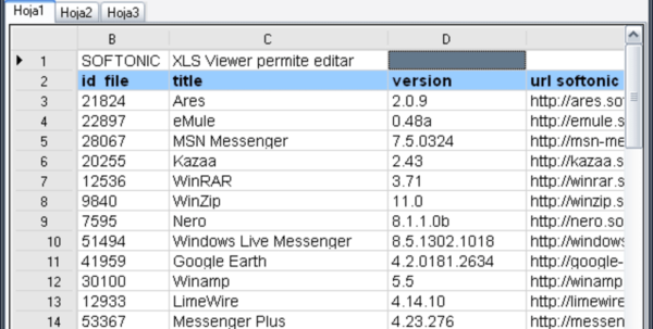 Excel Spreadsheet Alternative Pertaining To Xls Viewer  Download